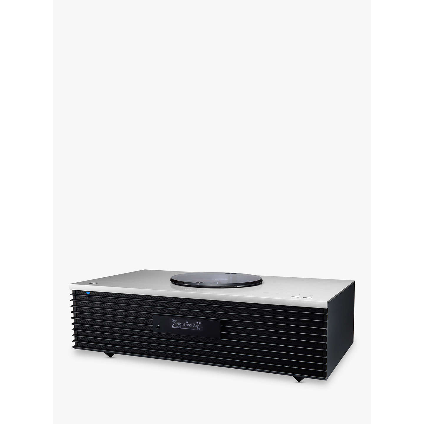 BuyTechnics SC-C70 OTTAVA forte Premium High Resolution Hi-Fi System With Bluetooth, Wi-Fi & AirPlay, Silver Online at johnlewis.com