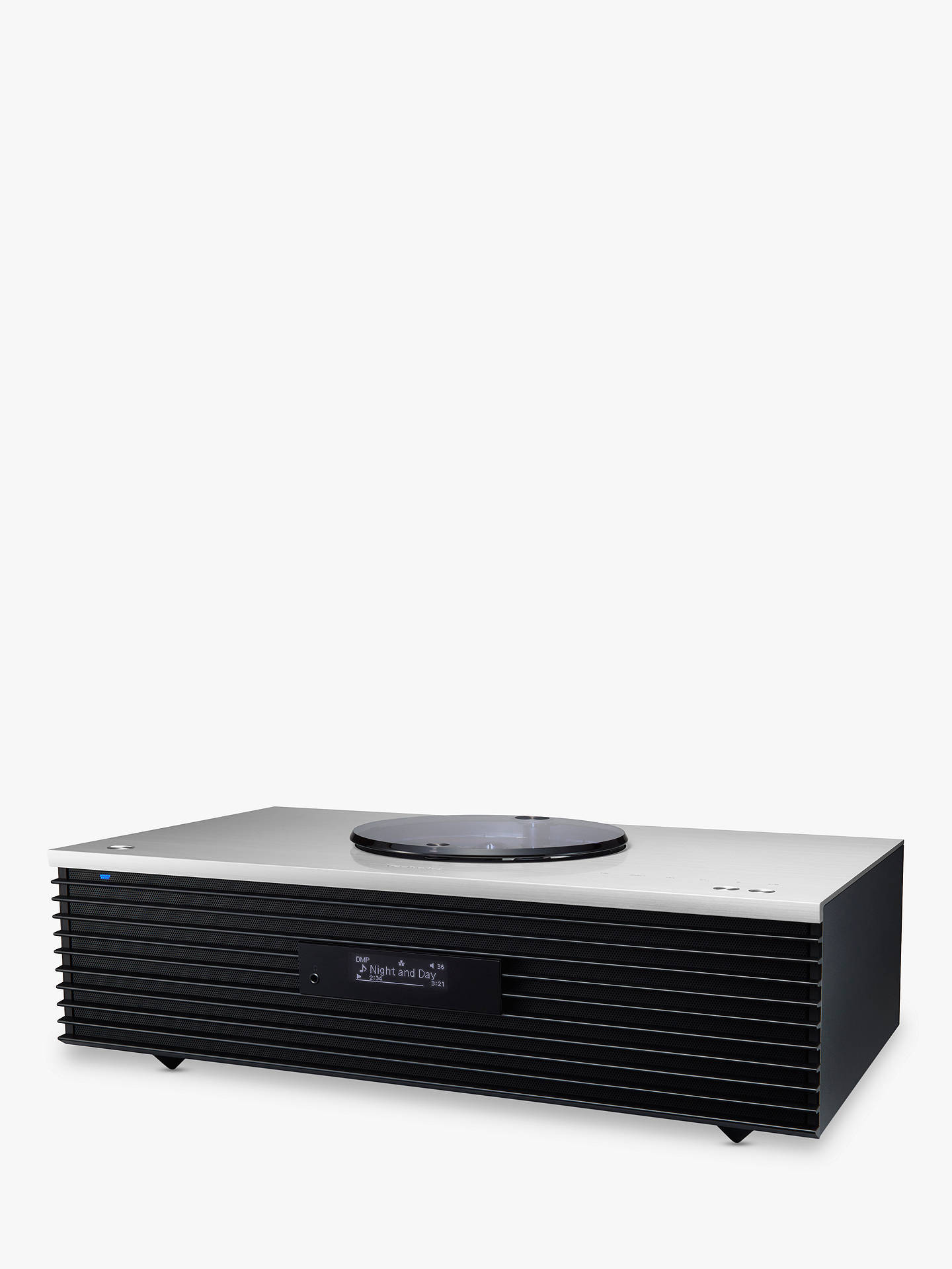 Technics SC-C70 OTTAVA forte Premium High Resolution Hi-Fi System With  Bluetooth, Wi-Fi & AirPlay, Silver