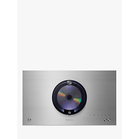 Buy Technics SC-C70 OTTAVA forte Premium High Resolution Hi-Fi System With Bluetooth, Wi-Fi & AirPlay, Silver Online at johnlewis.com