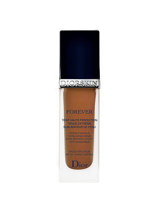Buy Dior Diorskin Forever Fluid Foundation, Dark Brown 070 Online at johnlewis.com