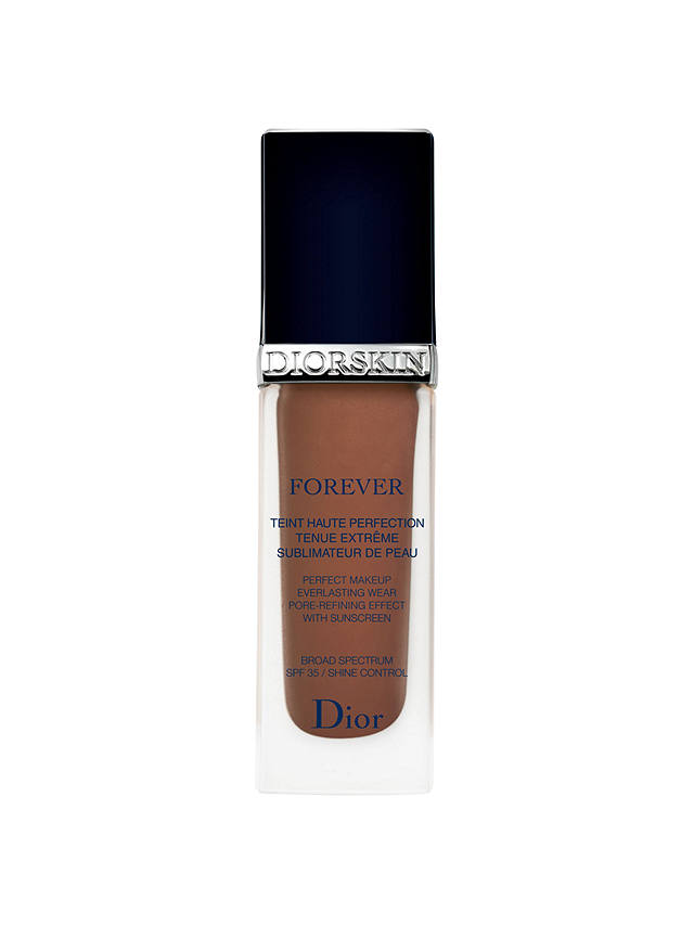 Buy Dior Diorskin Forever Fluid Foundation, Ebony 080 Online at johnlewis.com