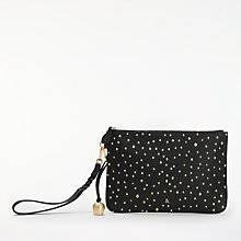 Buy bell&fox Pebble Leather Embroidered Clutch Online at johnlewis.com