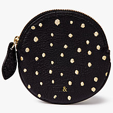Buy bell&fox Round Embroidered Coin Purse Online at johnlewis.com