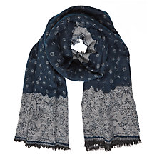 Buy Harris Wilson Winter Paisley Scarf, Multi Online at johnlewis.com