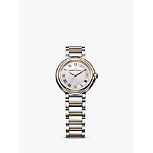 Buy Maurice Lacroix FA1003-PVP13-110-1 Women's Fiaba Date Two Tone Bracelet Strap Watch, Silver/Gold Online at johnlewis.com