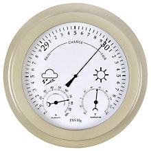 Buy Garden Trading Faroe Barometer / Thermometer and Hygrometer, Clay Online at johnlewis.com