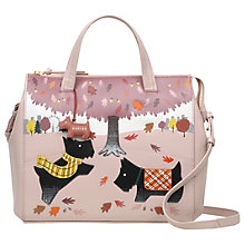 Buy Radley Autumn Days Leather Limited Edition Picture Bag, Pink Online at johnlewis.com