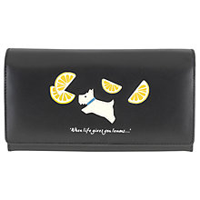 Buy Radley Lemons Leather Large Flap Matinee Purse Online at johnlewis.com