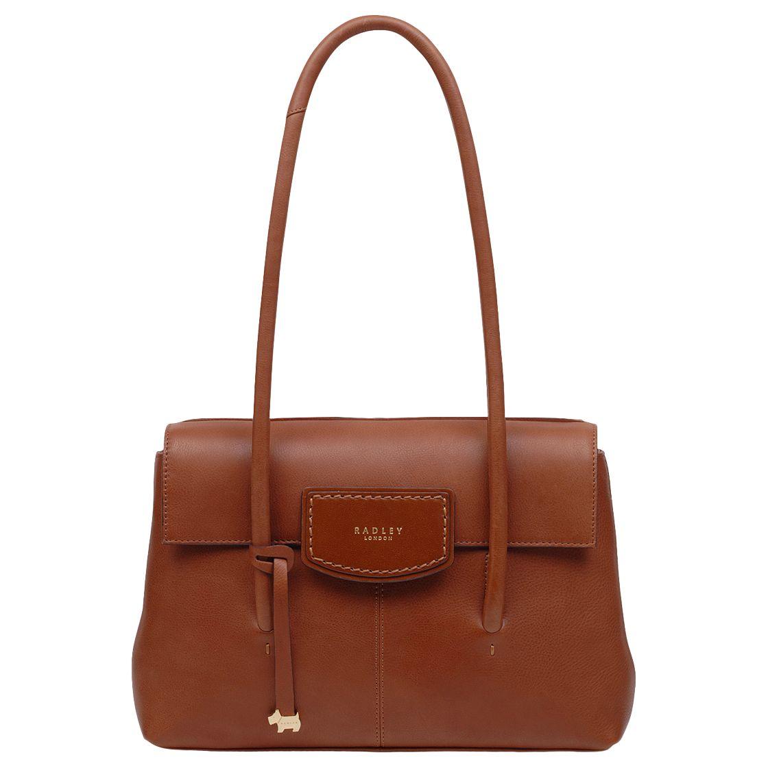 Radley Burnham Beeches Leather Medium Flapover Tote Bag at John Lewis    Partners 8900afc4ef