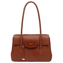 Buy Radley Burnham Beeches Leather Medium Flapover Tote Bag Online at johnlewis.com