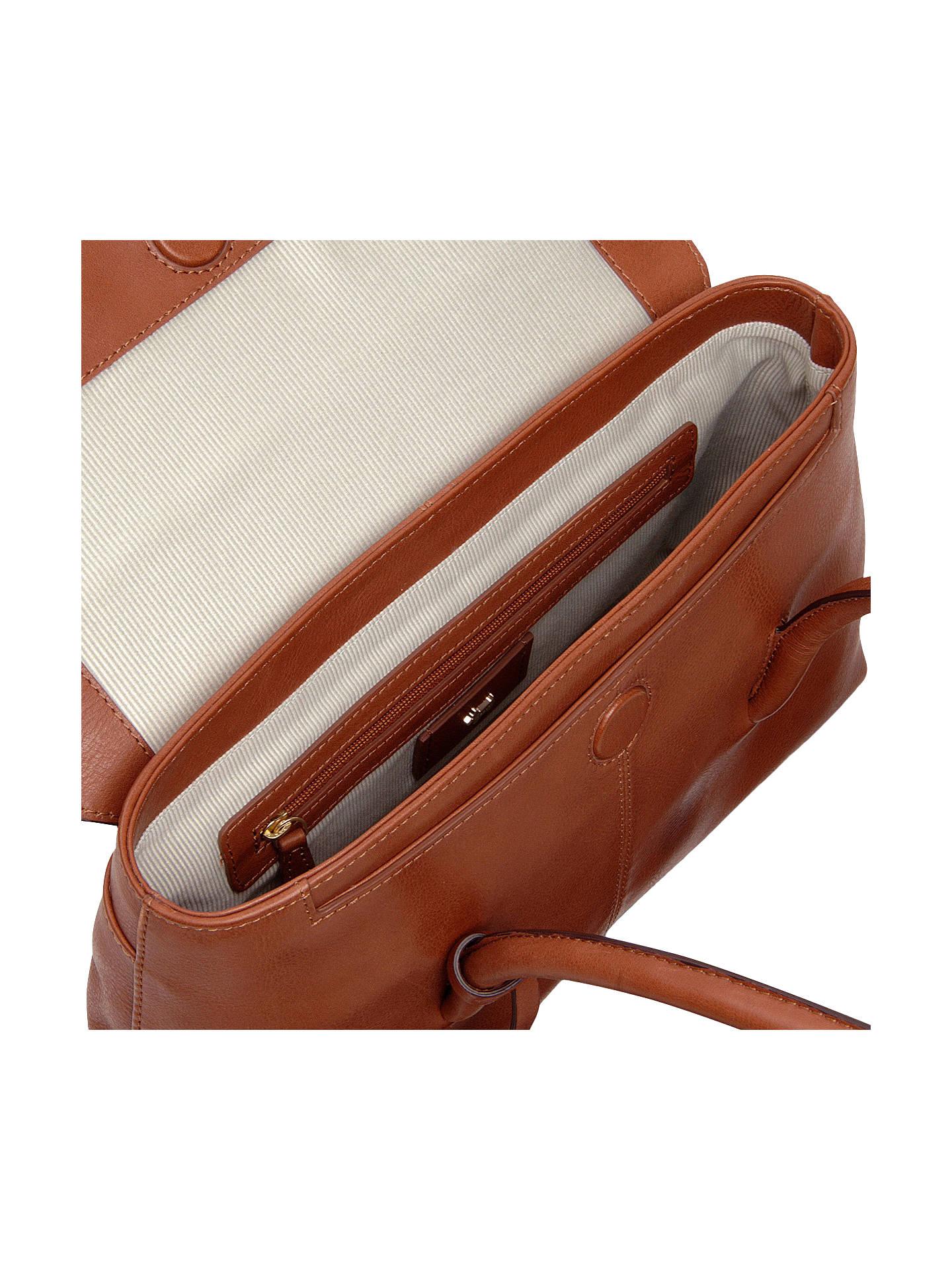 40ecde8d55f9 ... Buy Radley Burnham Beeches Leather Medium Flapover Tote Bag, Tan Online  at johnlewis.com ...