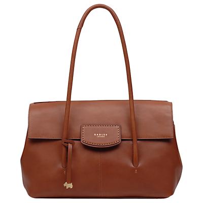 Radley Burnham Beeches Leather Large Flapover Shoulder Bag