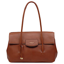 Buy Radley Burnham Beeches Leather Large Flapover Shoulder Bag Online at johnlewis.com