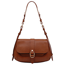 Buy Radley Trinity Square Leather Medium Flapover Shoulder Bag Online at johnlewis.com