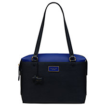 Buy Radley Kenley Common Large Leather Tote Bag, Blue Ink Online at johnlewis.com