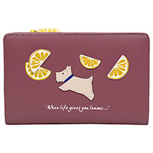 Buy Radley Lemons Leather Medium Zip Top Purse Online at johnlewis.com