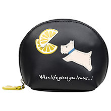 Buy Radley Lemons Leather Small Coin Purse Online at johnlewis.com
