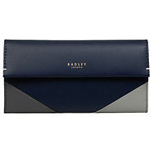 Buy Radley Leather Matinee Purse, Ink Online at johnlewis.com