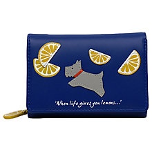 Buy Radley Lemons Leather Small Fold Purse Online at johnlewis.com