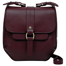 Buy Radley Trinity Square Leather Small Cross Body Bag Online at johnlewis.com