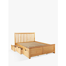 Buy John Lewis Natural Storage Bed, King Size Online at johnlewis.com