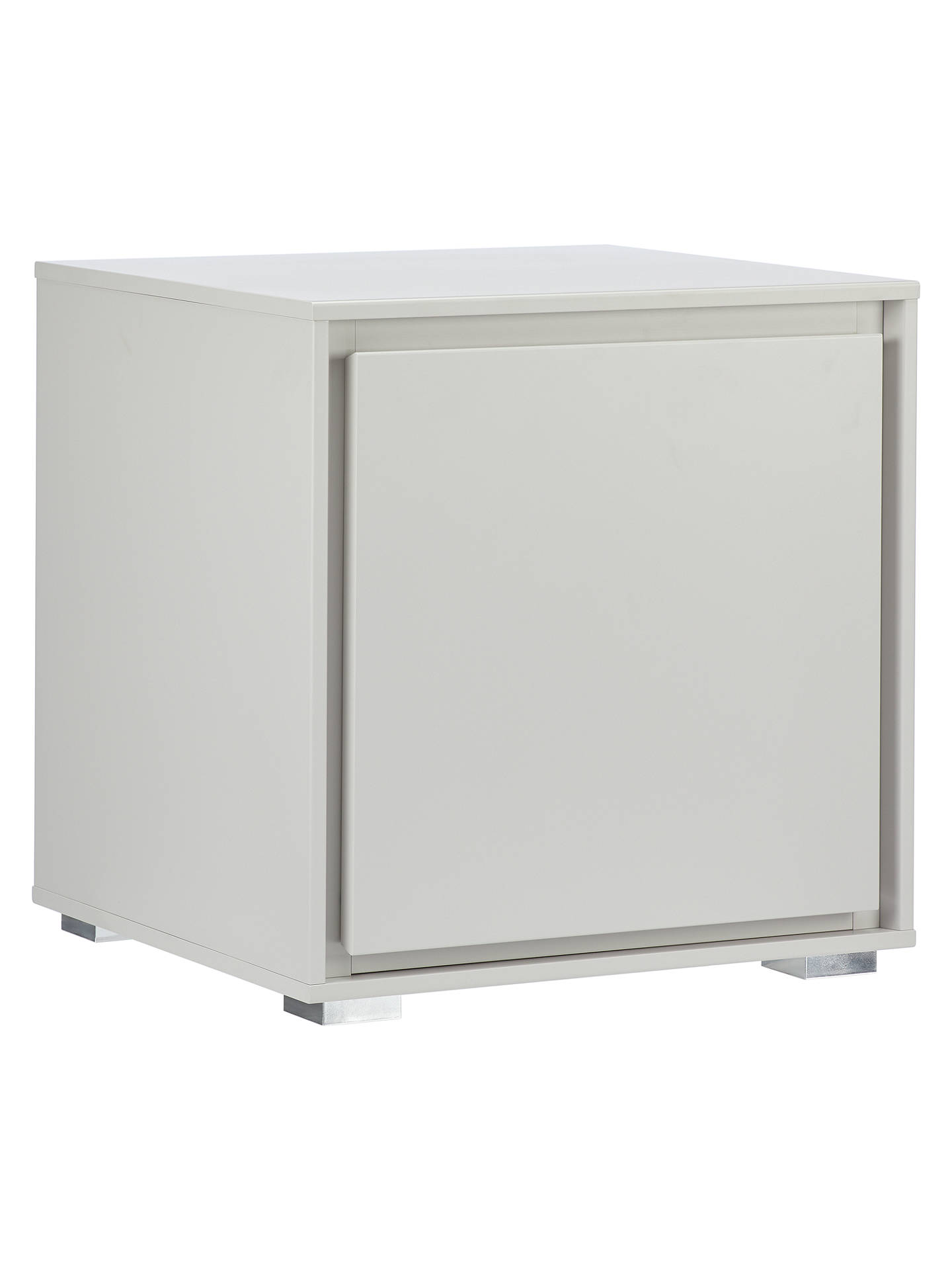 Two Drawer High Gloss Matt Bedside Cabinets Table Bedroom Hallway Storage Units