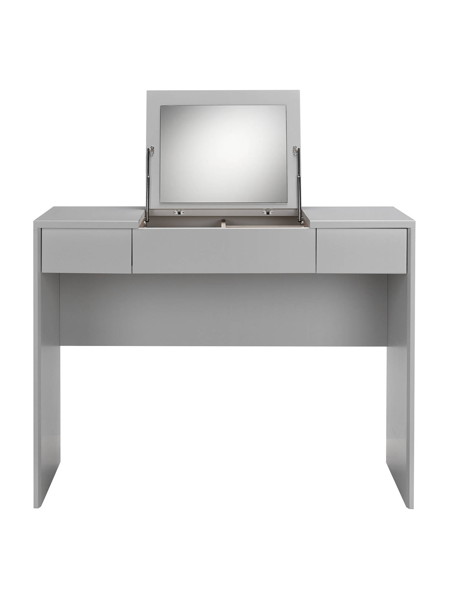 cfe706674f23 ... Buy John Lewis & Partners Napoli Dressing Table, Matt Grey Online at  johnlewis. ...