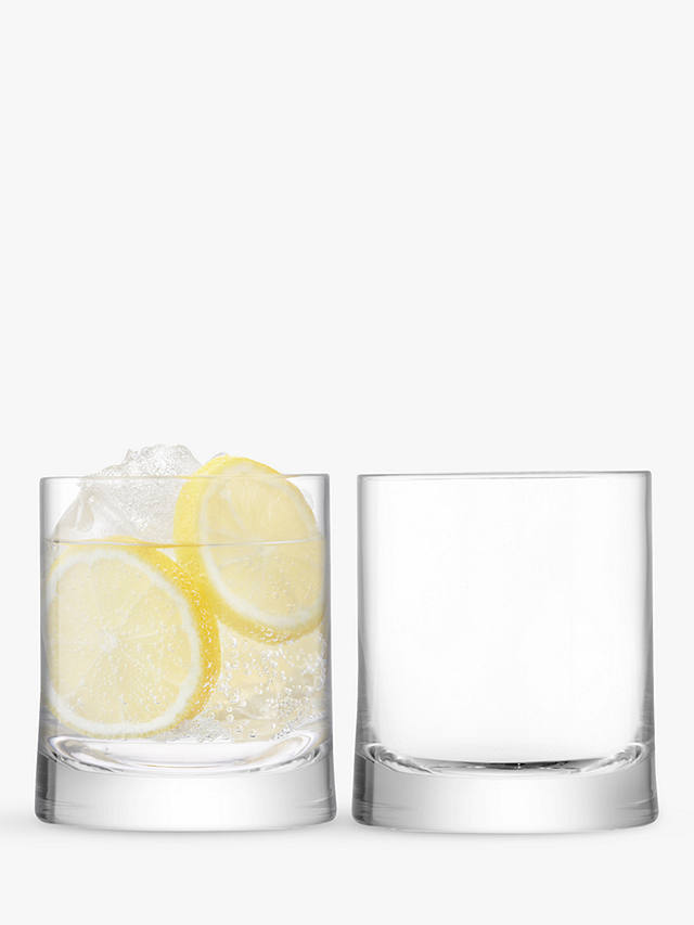 Buy LSA International Gin Glass Tumblers, Clear, 310ml, Set of 2 Online at johnlewis.com