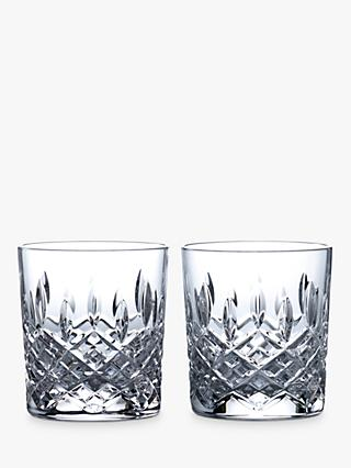 Royal Doulton R&D Collection Highclere Crystal Cut Tumblers, 290ml, Set of 2