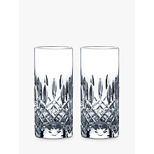 Buy Royal Doulton R&D Collection Highclere Crystal Cut Highballs, 320ml, Set of 2 Online at johnlewis.com