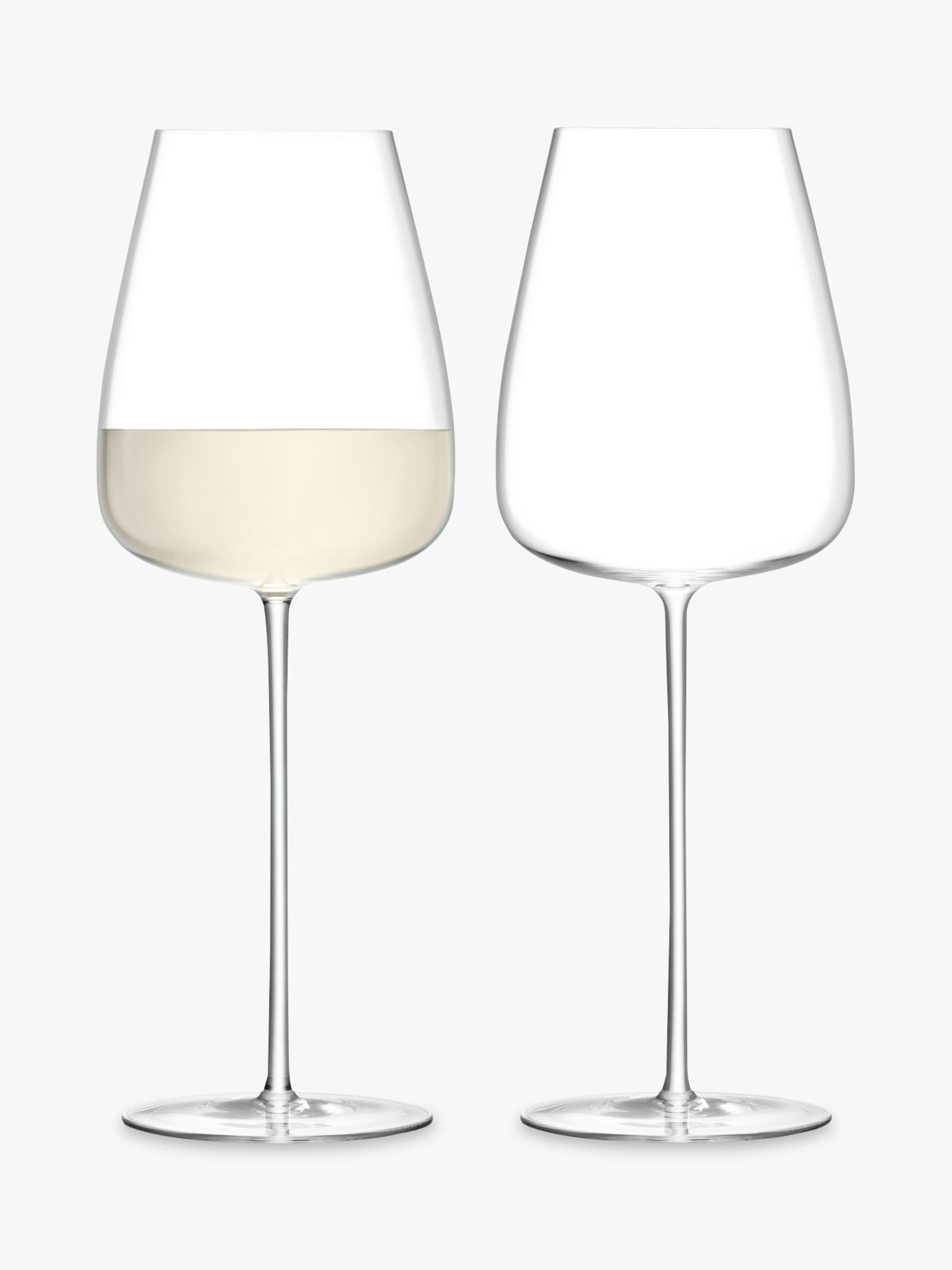 LSA International LSA International Wine Culture White Wine Goblets, 690ml, Set of 2
