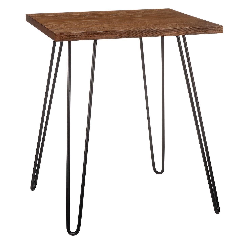 John Lewis Loop Ash Top Side Table At Johnlewis Com