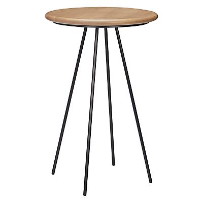 John Lewis Dot Oak Top Side Table