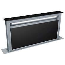 Buy Bosch DDA097G59B Downdraft Cooker Hood, Black Online at johnlewis.com