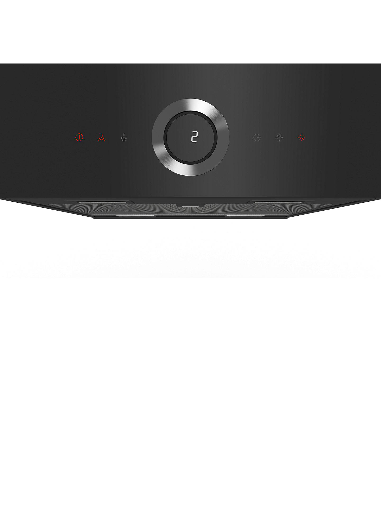 BuyBosch DII31RV60 Island Hood, Black Online at johnlewis.com