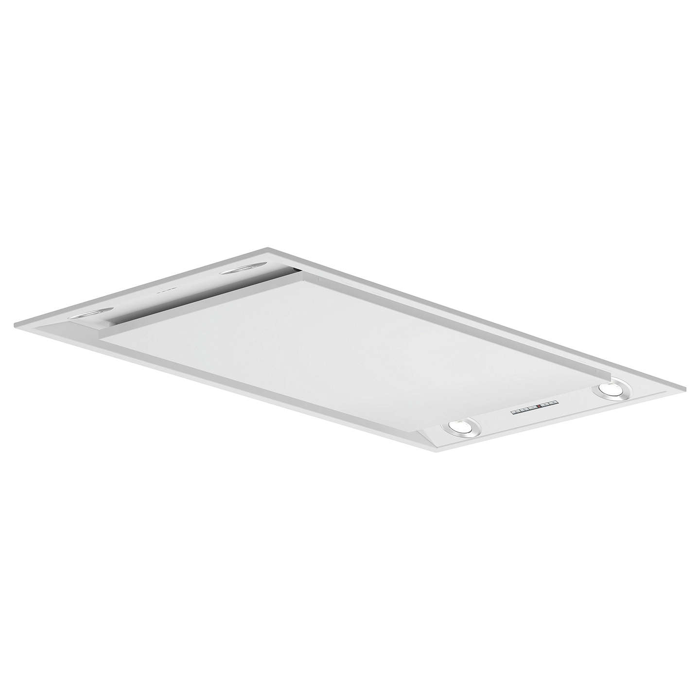 BuyNeff I99C68W1GB Ceiling Cooker Hood, White Online at johnlewis.com