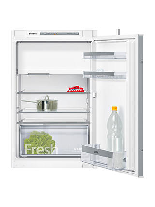 Buy Siemens iQ300 KI22LVS30G Built-In Fridge with Freezer Compartment, A++ Energy Rating, 54cm Wide, White Online at johnlewis.com