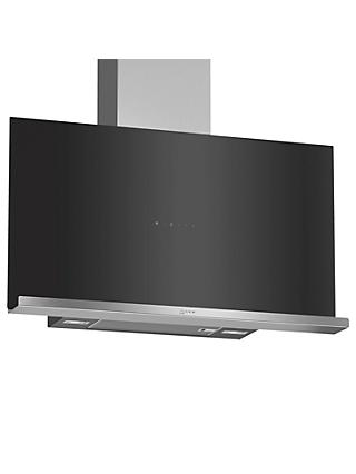 Neff D95FRM1S0B 90cm Chimney Cooker Hood, A Energy, Black