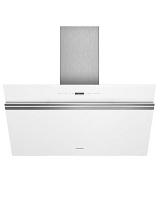 Buy Siemens iQ700 LC91KWW20B Wall Mounted Chimney Cooker Hood, White Online at johnlewis.com