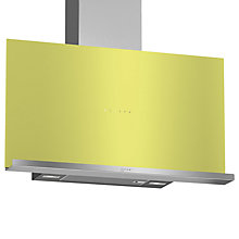 Buy Neff D95FRM1G0B Chimney Cooker Hood, Green Online at johnlewis.com