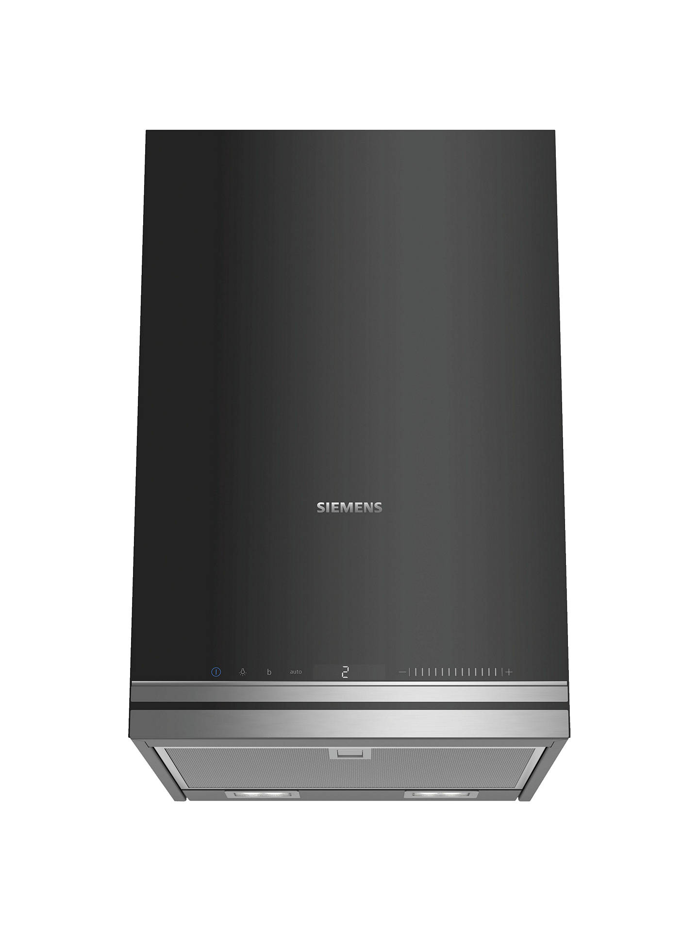 Buy Siemens LC37IVV60B Wall-mounted Chimney Cooker Hood, Black Online at johnlewis.com