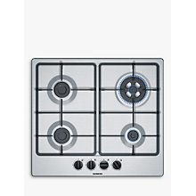 Buy Siemens EG6B5HB60 Gas Hob, Stainless Steel Online at johnlewis.com