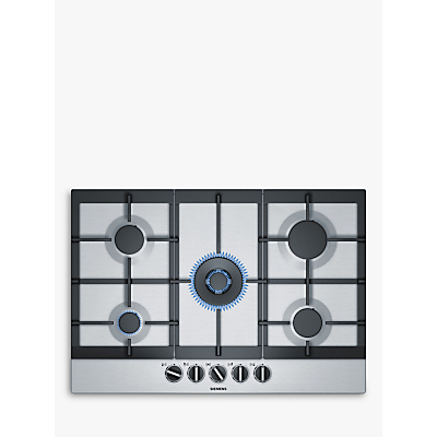 Siemens EC7A5RB90 Gas Hob, Stainless Steel