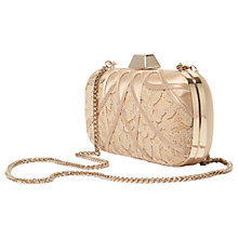 Buy Karen Millen Satin And Lace Clutch Bag Online at johnlewis.com