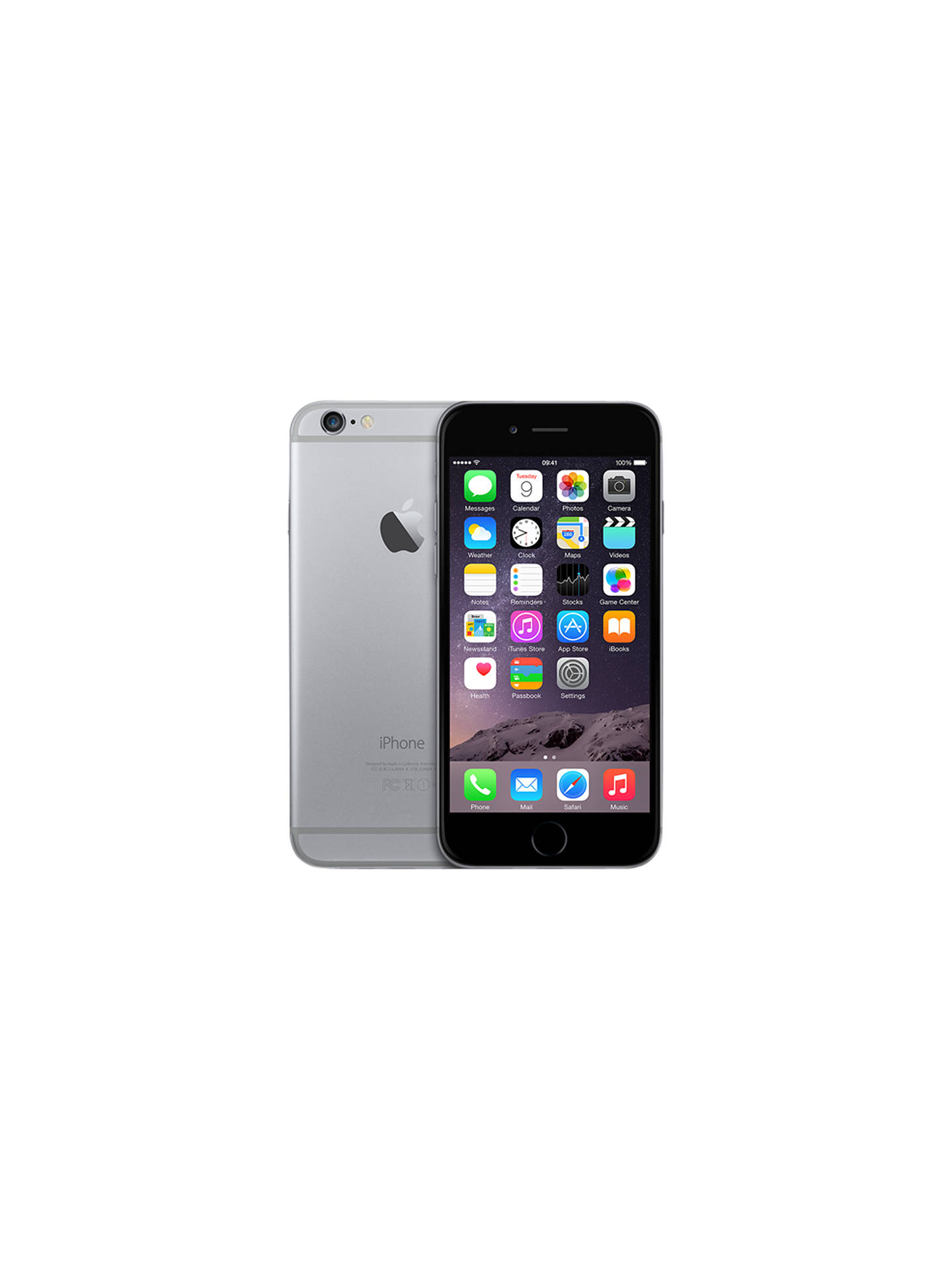 Apple Iphone 6 Ios 47 4g Lte Sim Free 32gb Space Grey At 5 Certified Pre Owned Buyapple