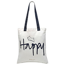 Buy Radley Slogans Cotton Tote Bag Online at johnlewis.com