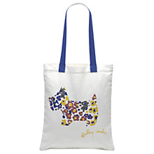 Buy Radley Roar Cotton Medium Tote Bag, Natural Online at johnlewis.com