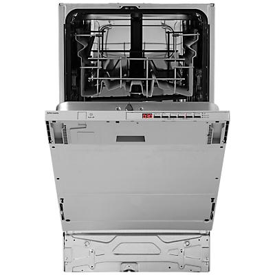 John Lewis JLBIDW917 Integrated Slimline Dishwasher
