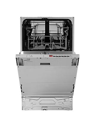John Lewis & Partners JLBIDW917 Integrated Slimline Dishwasher