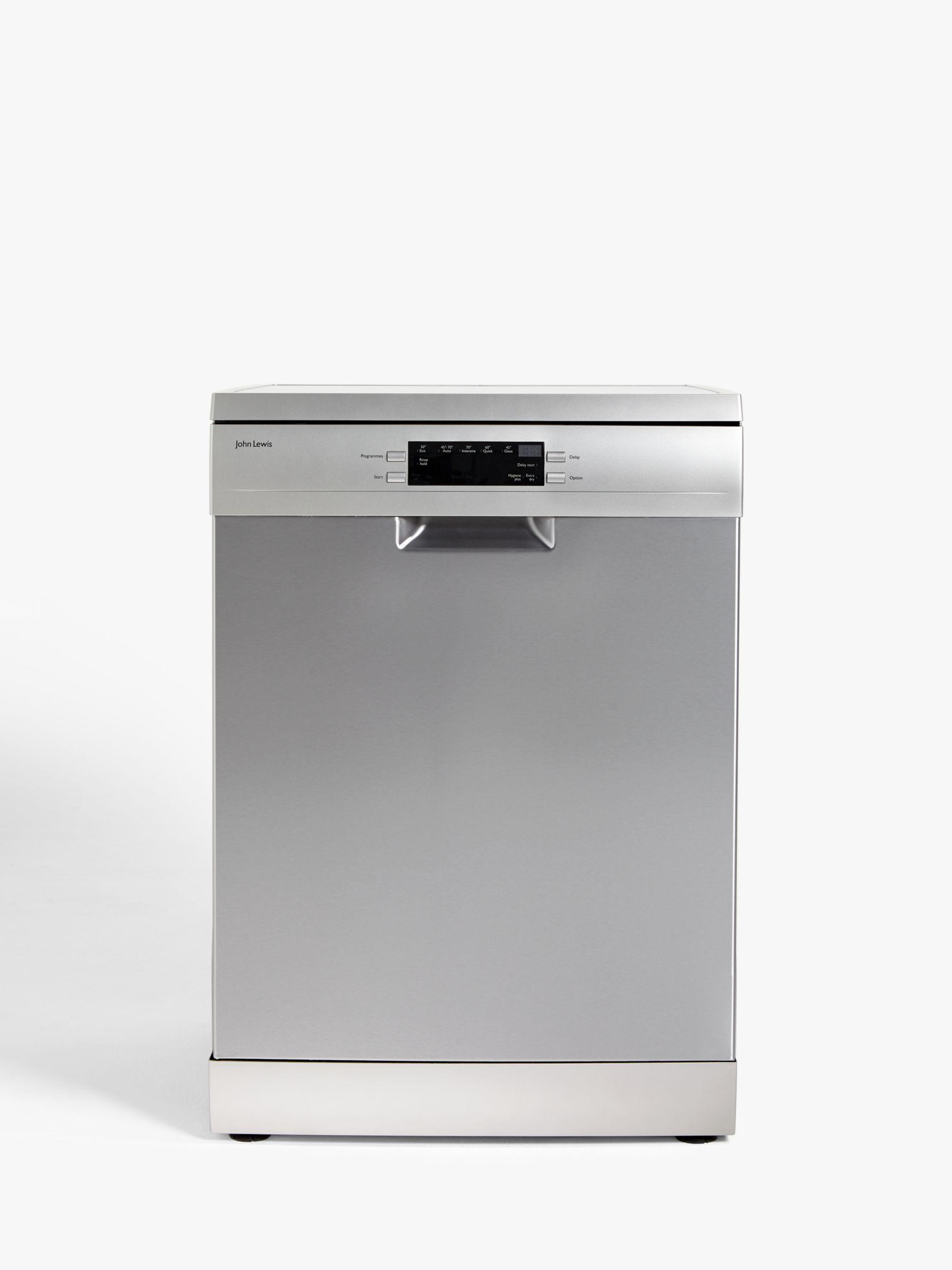 Dodatkowe John Lewis & Partners JLDWS1328 Freestanding Dishwasher, Stainless FB71